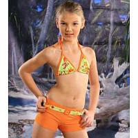 Купальник оранжевый для девочки Ewlon Emelia Польша (5901687-960388)