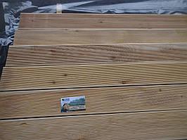Терраса доска 27х142х4000, СОРТ А, Сибирская лиственница, деревянная терраса