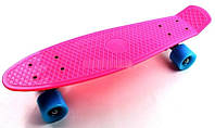 Пенни Борд Penny Board. Малиновый цвет.