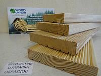 Террасная доска 27х142х5000, СОРТ А, Сибирская лиственница от производителя