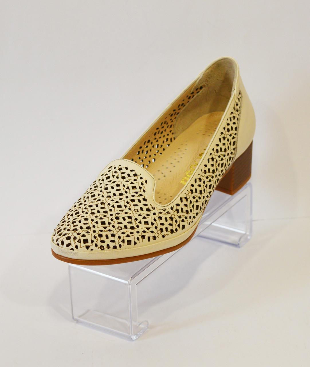 Женские туфли с перфорацией Euromoda 120