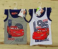 Компект белья трусики+майка Disney Cars для мальчика. Размеры: 2-3,3-4,7-8 лет