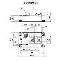 SKKE330F17 Диодній модуль Semikron