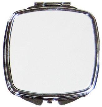 """Зеркальце в форме """"Квадрат"""" со скругленными углами для сублимации"""