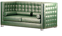 """Кожаный диван """"Парма""""."""