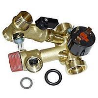 Гидроузел для котла (с краном подпитки) Ferroli Domicompact 39812130