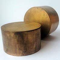 Круг бронзографит диаметр 55 мм х 30 мм