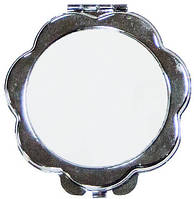 "Зеркальце в форме ""Цветок"" для сублимации"