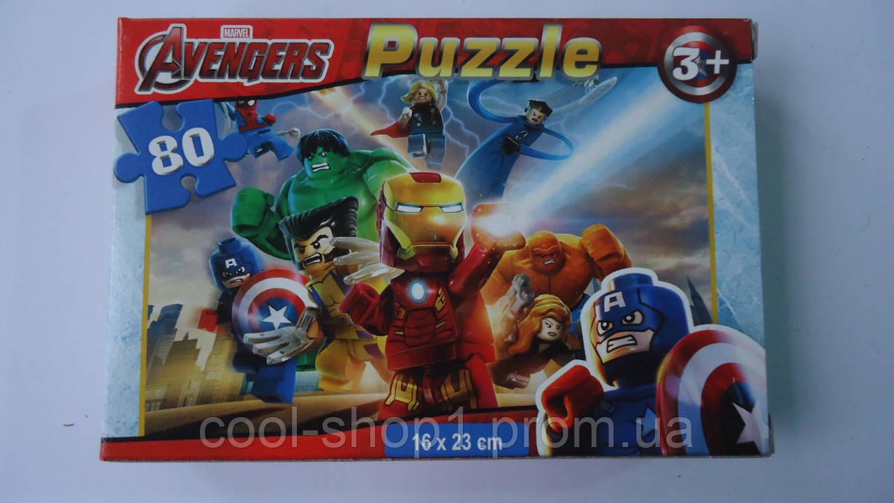 "Пазлы ""Avengers"",80 ел,Enfant,230х160мм.Детские пазлы,80 элементов.Пазли мален. на 80 эл .Пазлы детские.Пазлы  - Интернет-магазин ""Cool shop"" в Закарпатской области"