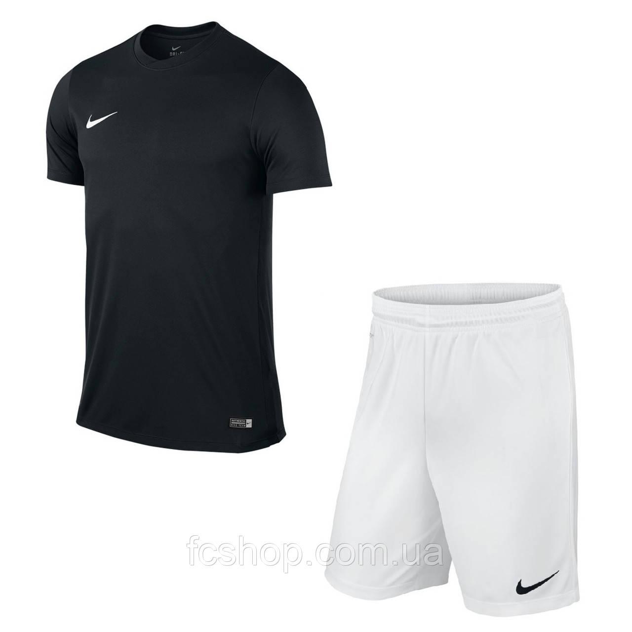 Футбольная форма для команд черно-белая Nike Park VI купить, цена в ... 613b063a6c6