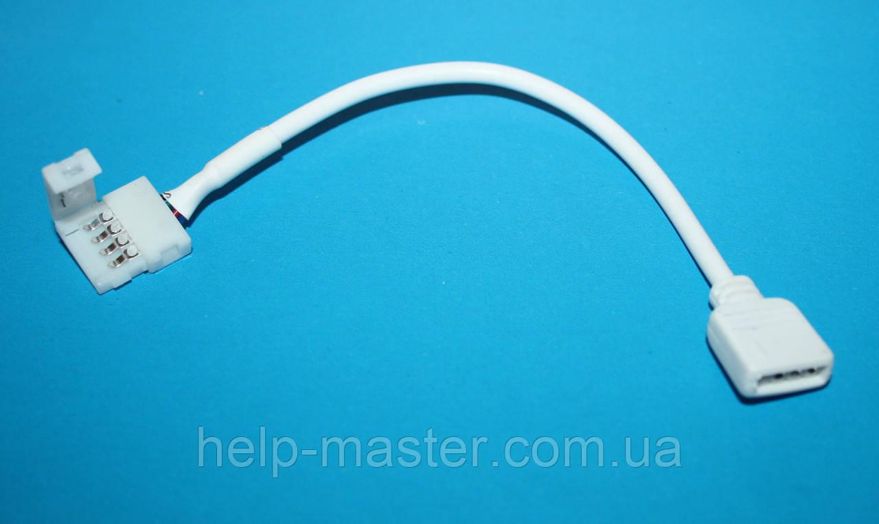 Соединительный кабель с коннектором 10мм 4pin