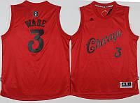 Мужская баскетбольная майка Chicago Bulls (Dwyane Wade) Red, фото 1