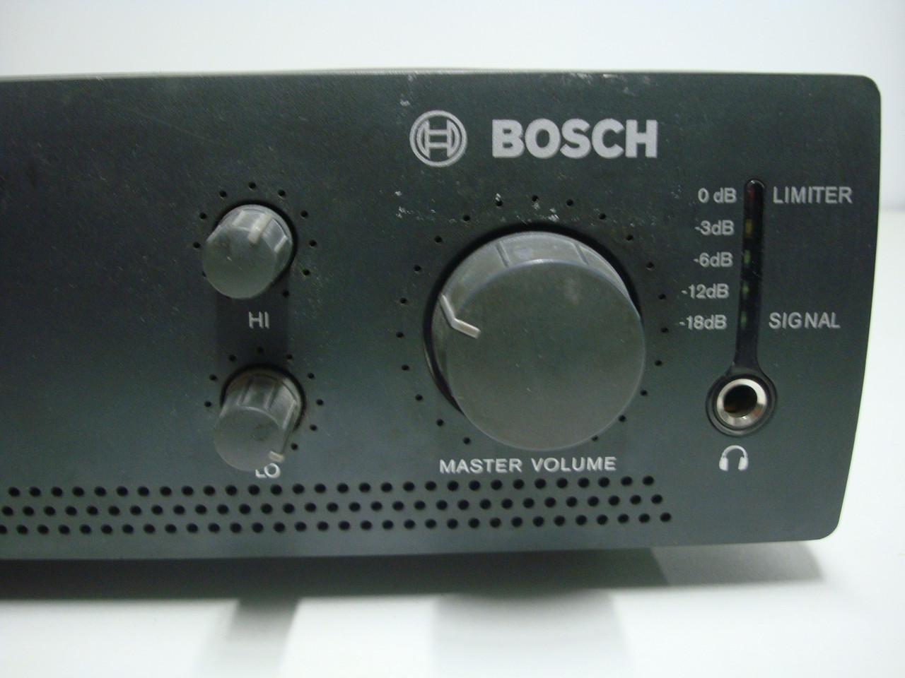 Мікшируючий підсилювач BOSCH PLE-1MA120-EU