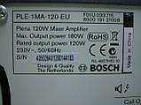 Мікшируючий підсилювач BOSCH PLE-1MA120-EU, фото 4