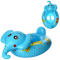Плотик детский надувной «Слоник» MSW 005, 64 см
