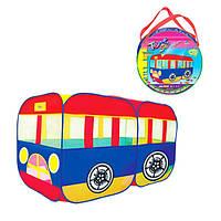 Детская игровая палатка «Автобус» M 3330, 151х75х90см