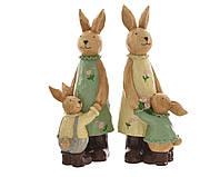 Дизайнерские пасхальные зайцы 30 cм