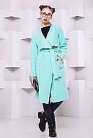 Пальто кэжуал-стиль Мадрид р. 42-48(универсал) ментол