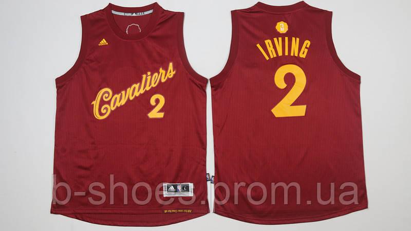 Мужская баскетбольная майка Cleveland Cavaliers (Kyrie Irving) Red