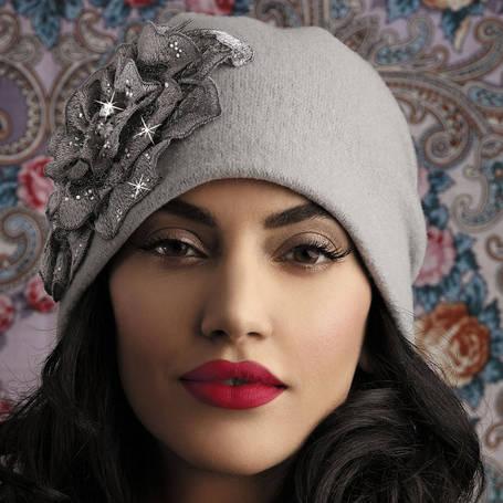 Модная женская шапочка Ervina от Willi Польша, фото 2
