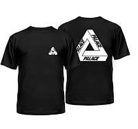 Футболка принт |Palace logo tringle|