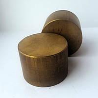 Круг бронзографит диаметр 50 мм х 35 мм