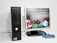 ПК DELL Optiplex 740 AMD ATHLON + HP L1740 бу