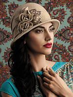 Элегантная женская шляпа с полями Eufemia от Willi Польша