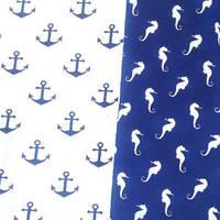 Набор ткани для пэчворка Морской