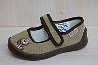 Тапочки в садик мальчику в садик текстильная обувь от тм Виталия Украина размер с 23 по 27