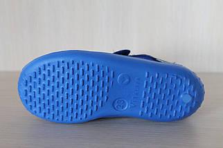 Детские тапочки на липучках для мальчика текстильная обувь Виталия Украина размер с 23 по 27, фото 3