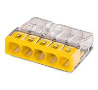 Компактные клеммы Wago 2273-205 5X2,5 без пасты