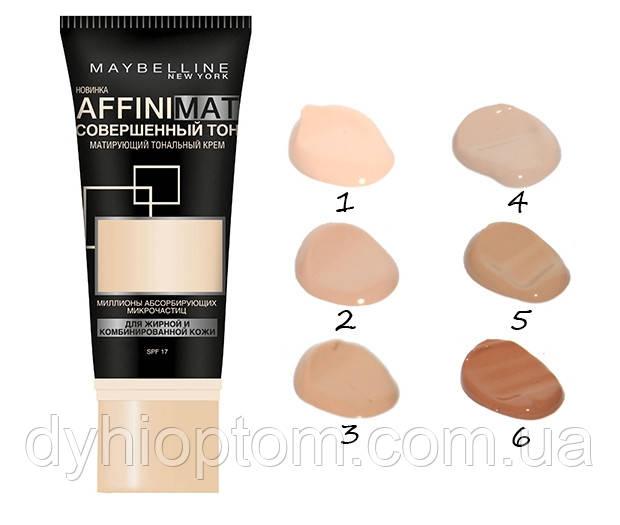 Тональный крем Maybelline Affinimat совершенный тон SPF 17