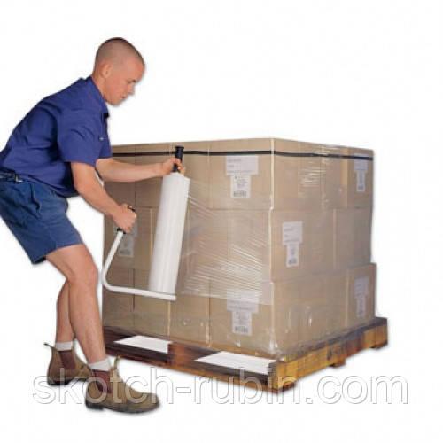 Упаковка стрейч пленкой ящиков