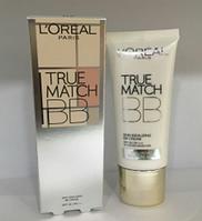Крем тональный Loreal True Match BB 30 мл. 6 цветов