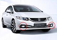 Противотуманные фары Honda Civic c 2013- / Производитель DLAA
