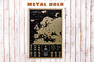 Скретч карта My Map Black Edition Europe в раме (англ. язык), фото 4