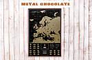 Скретч карта My Map Black Edition Europe в раме (англ. язык), фото 5