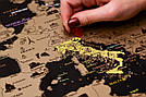 Скретч карта My Map Black Edition Europe в раме (англ. язык), фото 8