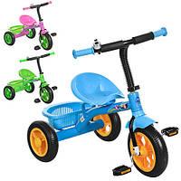 Велосипед  детский трехколесный M 3252-B