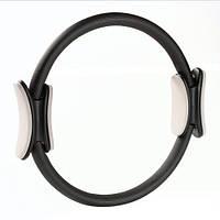 Кольцо для пилатеса TONING RING (металл, ручки неопрен, EVA, d-38,5см)