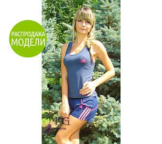 """Спортивный комплект: шорты + майка """"Adidas""""."""