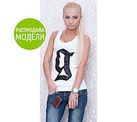 "Женская майка-борцовка ""Гальяно"" бренд Black"