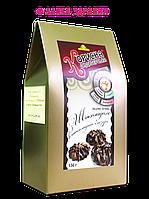 Песочное печенье «С шоколадом в шоколадной глазури», 130 г,  Стевиясан