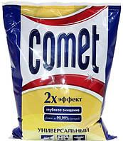 Порошок чистящий с дезинфицирующими свойствами COMET Лимон с хлоринолом в пакете 400 г