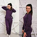 Женский модный повседневный костюм (5 цветов), фото 9