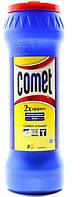 Порошок чистящий с дезинфицирующими свойствами COMET  Лимон с хлоринолом в банке 475 г
