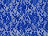 Стрейч-гипюр CHRISANNE (Англия) ярко-синий (flower electric blue)