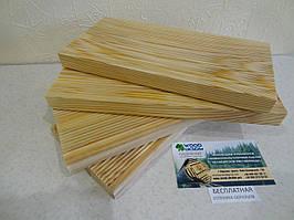 Доска для террасы Сибирская лиственница, Высший сорт, вельвет