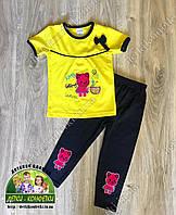 Летний костюм для девочки Китти
